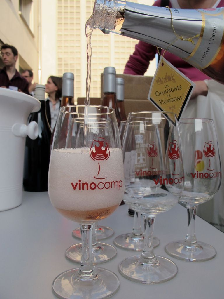 The 7th edition of France's VinoCamp was held in the Loire Valley