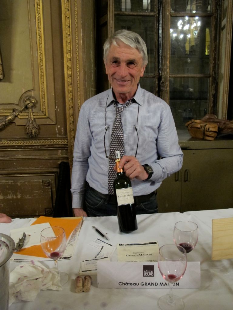 Jean Mallet of the Château Grand-Maison